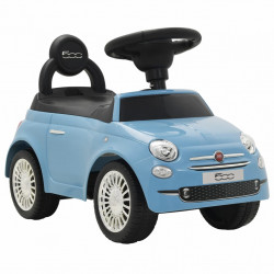 """Sonata Детска кола за яздене """"Fiat 500"""" синя - Детски превозни средства"""