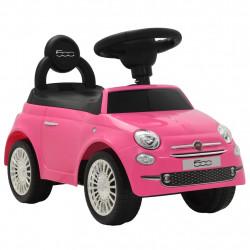 """Sonata Детска кола за яздене """"Fiat 500"""" розова - Детски превозни средства"""