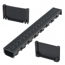 Sonata Дренажен канал, пластмаса, 1 м - Продукти за баня и WC