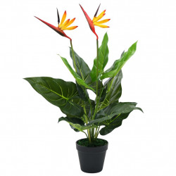 Sonata Изкуствено растение Стрелиция регине (райска птица), 66 см - Изкуствени цветя