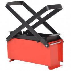 Sonata Преса за брикети от хартия стомана 34x14x14 см черно и червено - Техника и Отопление