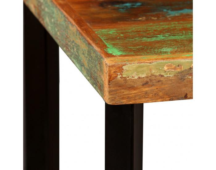 Sonata Бар комплект 3 части регенерирано дърво естествена кожа брезент -
