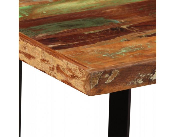Sonata Бар комплект 5 части регенерирано дърво естествена кожа брезент -