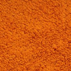 Sonata Комплект постелки за баня, 2 бр, текстил, оранжеви - Продукти за баня и WC