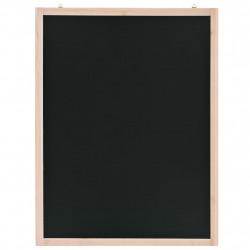 Sonata Черна дъска за стена, кедрово дърво, 60x80 см - Аксесоари