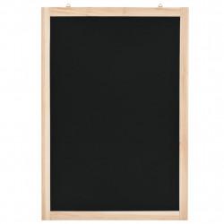 Sonata Черна дъска за стена, кедрово дърво, 40x60 см - Аксесоари