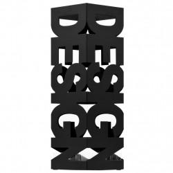 """Sonata Поставка за чадъри """"Дизайн"""", стомана, черна - Изтривалки и Поставки за чадъри"""