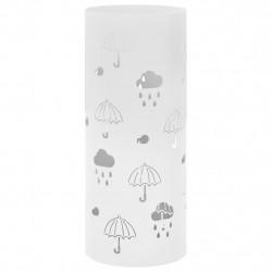 """Sonata Поставка за чадъри """"Чадъри"""", стомана, бяла - Изтривалки и Поставки за чадъри"""
