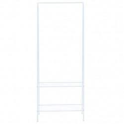 Sonata Щендер за дрехи, 59x35x150 см, бял - Закачалки