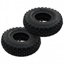 Sonata Гуми/вътрешни гуми за транспортни колички, 2 бр, 3,00-4 260x85 - Инструменти