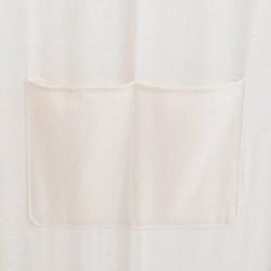 Sonata Параван за стая, 5 панела, кремав, 200x170x4 cм, текстил - Аксесоари за Всекидневна