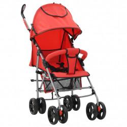 Sonata 2-в-1 Сгъваема детска количка/бъги, червена, стомана - Сравняване на продукти