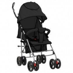 Sonata 2-в-1 Сгъваема детска количка/бъги, черна, стомана - Сравняване на продукти