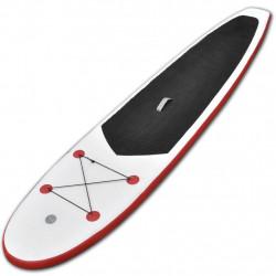 Sonata Комплект надуваем стендъп падъл борд, червено и бяло - Водни спортове