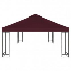 Sonata Двоен покрив за шатра, 310 г/м², 3x3 м, бордо - Шатри и Градински бараки