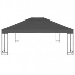 Sonata Двоен покрив за шатра, 310 г/м², 4x3 м, антрацит - Шатри и Градински бараки