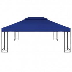 Sonata Двоен покрив за шатра, 310 г/м², 4x3 м, син - Шатри и Градински бараки