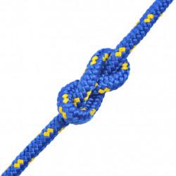 Sonata Морско въже, полипропилен, 16 мм, 50 м, синьо - За яхти и лодки