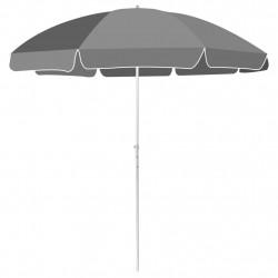 Sonata Плажен чадър, 240 см, антрацит - Сенници и Чадъри