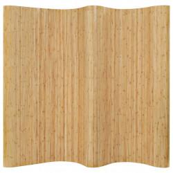 Sonata Параван за стая, бамбук, 250x195 см, натурален цвят - Аксесоари за Всекидневна