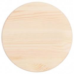 Sonata Плот за маса, натурален бор, кръгъл, 28 мм, 30 см - Маси