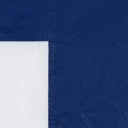 Sonata Странични стени за парти шатра, 2 бр, с прозорци, PE, сини - Шатри и Градински бараки