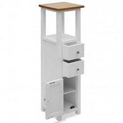 Sonata Висок шкаф с чекмеджета, 26x26x94 см, дъбов масив - Сравняване на продукти