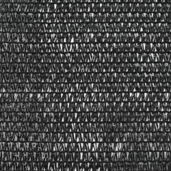 Sonata Тенис екран, HDPE, 1x25 м, черен - Спортове на открито