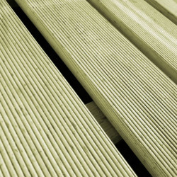 Sonata Декинг плочки, 6 бр, 50x50 см, FSC дървесина, зелени - Подови настилки