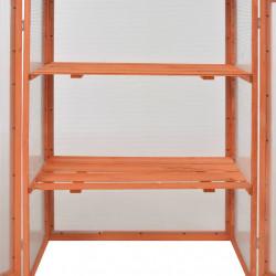 Sonata Оранжерия, дърво, 75x47x109 см - Оранжерии и Парници