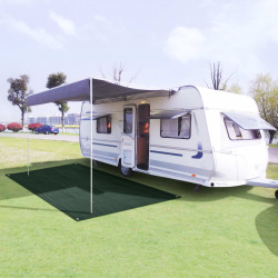 Sonata Килим за палатка, 250x400 см, HDPE, зелен - Палатки