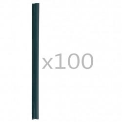 Sonata 100 бр клипса за ограда, PVC, зелени - Огради