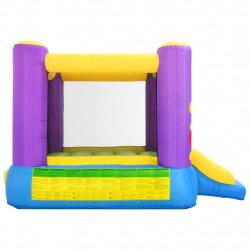 Happy Hop Надуваем батут с пързалка, 260x210x160 см, PVC - Сравняване на продукти