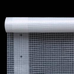 Sonata Брезент тип Лено, 260 г/м², 2x2 м, бял - Сенници и Чадъри