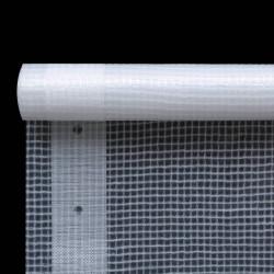 Sonata Брезент тип Лено, 260 г/м², 2x4 м, бял - Сенници и Чадъри