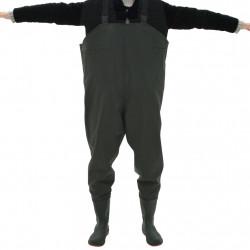 Sonata Гащеризон за риболов с ботуши размер 45, зелен - Предпазни облека
