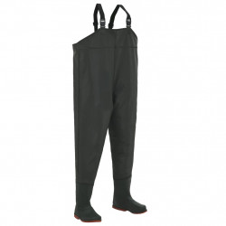 Sonata Гащеризон за риболов с ботуши размер 46, зелен - Предпазни облека