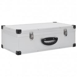 Sonata CD куфар за 80 диска, алуминий, ABS, сребрист - Куфари и Чанти
