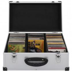 Sonata CD куфар за 60 диска, алуминий, ABS, сребрист - Куфари и Чанти