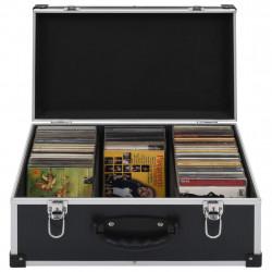 Sonata CD куфар за 60 диска, алуминий, ABS, черен - Куфари и Чанти