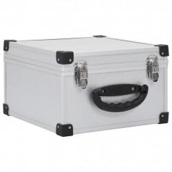 Sonata CD куфар за 40 диска, алуминий, ABS, сребрист - Спорт и Свободно време