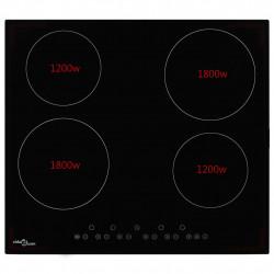 Sonata Керамичен плот с 4 котлона, сензорен контрол, 6000 W - Котлони