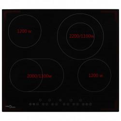 Sonata Керамичен плот с 4 котлона, сензорен контрол, 6600 W - Котлони