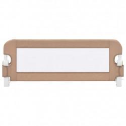 Sonata Ограничител за бебешко легло, таупе, 102x42 см, полиестер - Мебели за детска стая