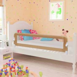 Sonata Ограничител за бебешко легло, таупе, 150x42 см, полиестер - Мебели за детска стая