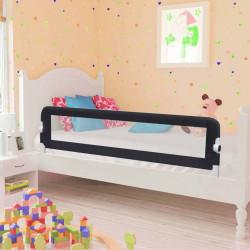 Sonata Ограничител за бебешко легло, сив, 150x42 см, полиестер - Мебели за детска стая