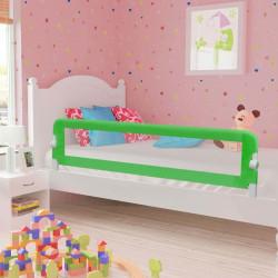 Sonata Ограничител за бебешко легло, зелен, 180x42 см, полиестер - Мебели за детска стая