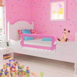 Sonata Ограничител за бебешко легло, розов, 120x42 см, полиестер - Мебели за детска стая