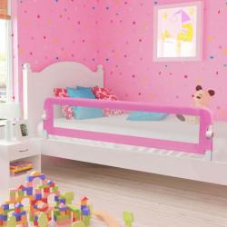 Sonata Ограничител за бебешко легло, розов, 180x42 см, полиестер - Мебели за детска стая