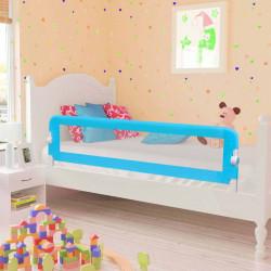 Sonata Ограничител за бебешко легло, син, 120x42 см, полиестер - Мебели за детска стая